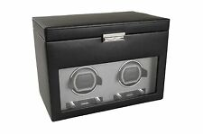 Wolf Design Module 2.7 Viceroy Double Automatic Dual 2 Watch Winder Storage NEW