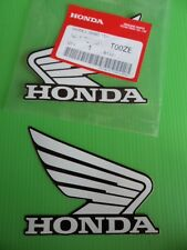 Honda Tank Sticker Decal CBR NSR 125 250 400 600 900 1000 Fireblade WHITE/BLACK