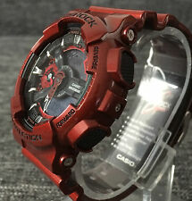 CASIO G SHOCK GA-110NM-4AER RED RED METALLIC XLARGE ANALOG&DIGITAL BRAND NEW