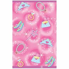 Princess Plastic Birthday Party Tablecloth 137 x 259cm wipe-clean Table Cover