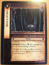 Lord of the Rings CCG Fellowship 1C168 Drums in the Deep X2 LOTR TCG