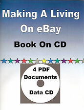 """Making A Living On eBay"" Book CD, Work At Home Business, How To Sell & Profit"