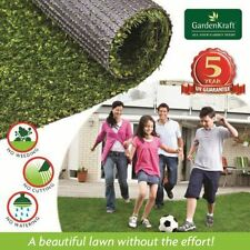 30mm Thick 4m x 1m  Artificial Grass Astro Turf Natural Green Lawn Garden