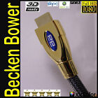 2m HDMI CABLE SKY HD 3D TV PS3 XBOX v1.4 LCD LED PLASMA (MONSTER QUALITY) GOLD