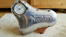 norton motorcycle engine casing timing chain cover clock rare vintage cafe racer