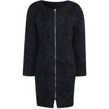 True Decadence Cocoon Coat, Blue Ladies UK 12 Box1394 h