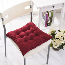 COLOURFUL SEAT PAD DINING ROOM GARDEN KITCHEN OFFICE CHAIR CUSHIONS WITH TIE ON