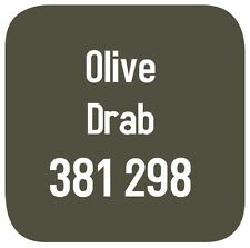 BRITISH STANDARD 381C 298 CELLULOSE PAINT  OLIVE DRAB 2.5L