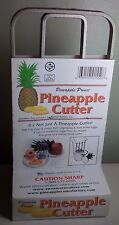 PINEAPPLE PRINCE CUTTER SLICER CORER STAINLESS STEEL