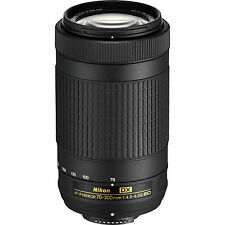 NEW Nikon AF-P DX NIKKOR 70-300mm f/4.5-6.3G ED Lens for Nikon DSLR Cameras