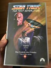 Star Trek The Next Generation Aquiel & Das Gesicht Des Feindes VHS