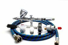 VEDA Pro WD180 0.2mm Dual Action Airbrush Bulk Kit Package Precision Paint