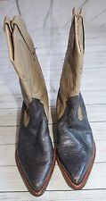 Harley-Davidson Western Boot Blue and Gray Harley Boots size 7 Harley-Davidson