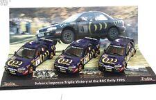 TROFEU 691 SUBARU IMPREZA WRC 3-piece Victory set RAC RALLY 1995 McRae 1:43