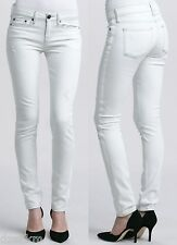 NWT $220 Vince Dylan Skinny Jeans Destructed Bleach Size 30