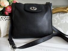 Fossil Marlow Black Leather Medium Shoulder Crossbody Bag