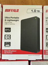 BNEW in Sealed Box Buffalo MiniStation 1 TB External Portable Hard Disk Drive