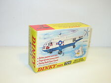 n115, boite HELICOPTERE SEA KING navy,  militaire bt repro 724 dinky toys