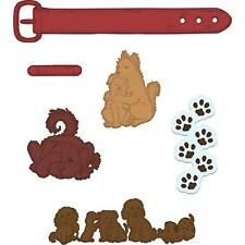 Heartfelt Creations Spellbinders Die ~ PAMPERED POOCH PALS ~ HCD1-7115