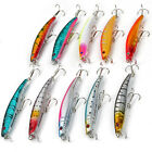 10pz Esche Artificiali Per Pesca Spinning Mare Fiume Minnow Fishing Lures 11.5cm