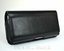 New Black Leather Case Cover Pocket For Samsung Galaxy S1 S2 i9100