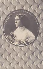 8011) MESSINA 1910 CONCORSO DI BELLEZZA, ANNA BONDI REGINA DELLA CONCA D'ORO. VG
