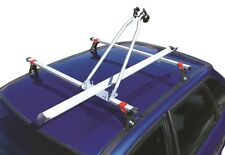 Maypole Car Roof Bar Mounted Upright Stand Cycle Bike Travel Rack Carrier - 15kg