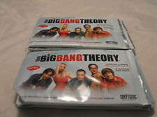 THE BIG BANG THEORY SEASON 3 & 4, LOT OF 10 SEALED PACKS