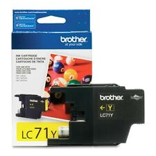 Genuine Brother LC71 Yellow ink 71 LC71Y DCP J525W J725DW J925DW J280W J425W