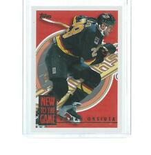 1994-1995 TOPPS NEW TO THE GAME HOCKEY ROMAN OKSIUTA #8NG