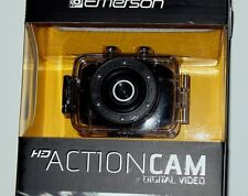 Emerson Go Action Cam 720p HD Digital Video Camera Pro Grade 5 mp Video Screen
