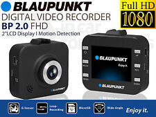 Blaupunkt BP 2.0 FHD DIGITAL VIDEO RECORDER in Auto Furgone DASH CAMERA DVR FULL 1080