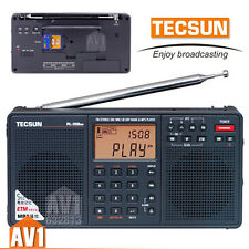 TECSUN Quality Radio pl-398. DSP receiver FM/SW/MW/LW. MP3 player insert SD card