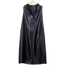 Good Quality Black Devil Hooded Cloak Fashion Style Long Type Cloak UR