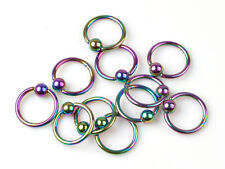 Fashion 5X Lot Chic Stainless Steel Belly Navel Tongue Lip Body Piercing jewelry