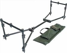 Leeda Rogue facilmente assemblati Carpa 3 ROD POD Pack + valigetta pesca grossolani