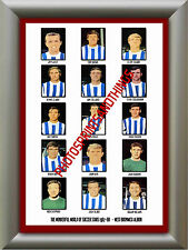 WEST BROM - 1967-68 - REPRO STICKERS A3 POSTER PRINT