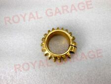 NEW ROYAL ENFIELD BEND EXHAUST PIPE BRASS MADE COOLING RING FIN 500CC
