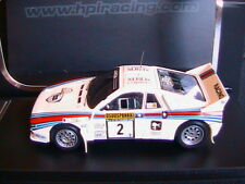 LANCIA 037 RALLY #2 1000 LAKES 1983 ALEN KIVIMAKI HPI RACING 8285 1/43 MARTINI