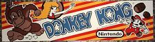 "Donkey Kong Arcade Marquee 22.3"" x 5.8"""