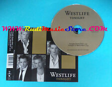 CD Singolo Westlife Tonight 82876 505032 europe 2003 no mc lp vhs(S25)