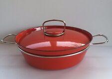 Vintage 1960's Midcentury Denmark Rafa Enamel Pot Cookware By Nanna Ditzel