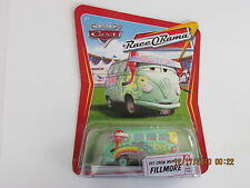 Disney Pixar Cars 2 PIT CREW MEMBER FILLMORE RACE O RAMA WOC Hot Wheels CB-L
