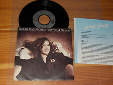 SARAH JANE MORRIS - LOVING A DREAM / GERMANY VINYL 7'' SINGLE 1989 & PROMO-FACTS