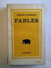 FABLES 1933 FRANC NOHAIN