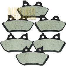 Front Rear Carbon Kevlar Brake Pads 2000-2007 2006 Harley FLHRi FLHR Road King