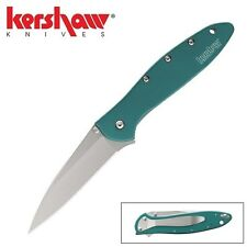 Kershaw - LEEK Assisted Opening Knife Teal (Made in USA) 1660TEAL New