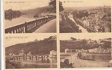 Lot 4 cartes postales anciennes BELGIQUE NAMUR 3