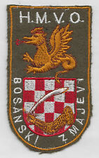 CROATIA ARMY -  HMVO  BOSANSKI ZMAJEVI - BOSNIAN DRAGONS, rare sleeve patch