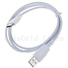 Charger Cable Cord for Fuhu Nabi DreamTab DMTab Jr XD Kids 2S Elev8 Tablet White